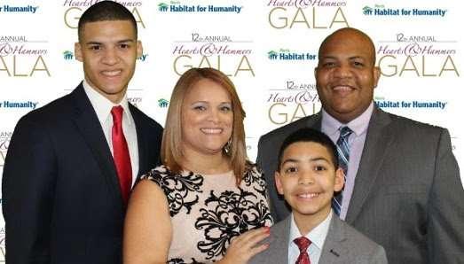 Rondon family at 2017 Gala