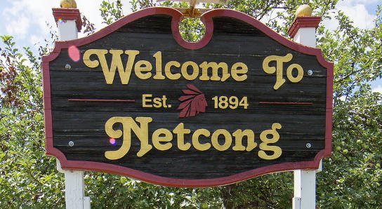 Netcong Welcome sign