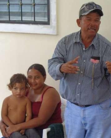 Honduras 214 homeowner family