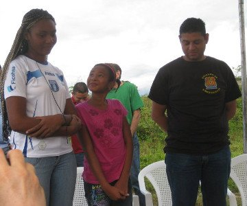 Honduras homeowner family 2011