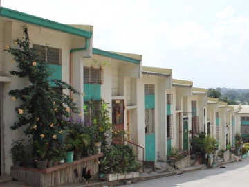 Philippines row houses