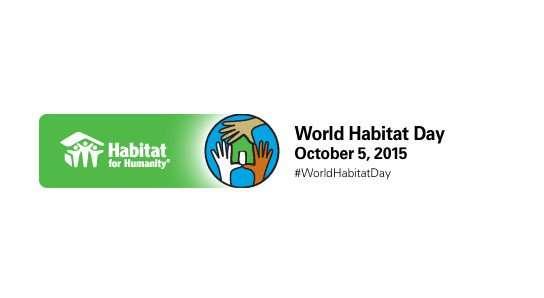 World Habitat Day 2015