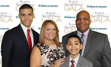 Rondon family at Gala 2017
