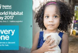 World Habitat Day 2017