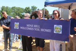 home dedication in Mine Hill, NJ