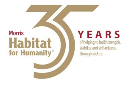 Habitat for Humanity 35 year anniversary logo