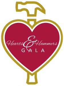 Hearts and hammers gala icon