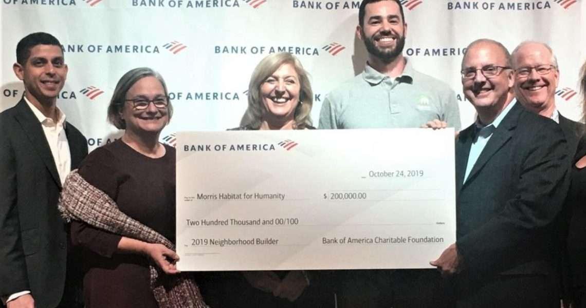 Morris Habitat for Humanity receives $200,000 builders grant