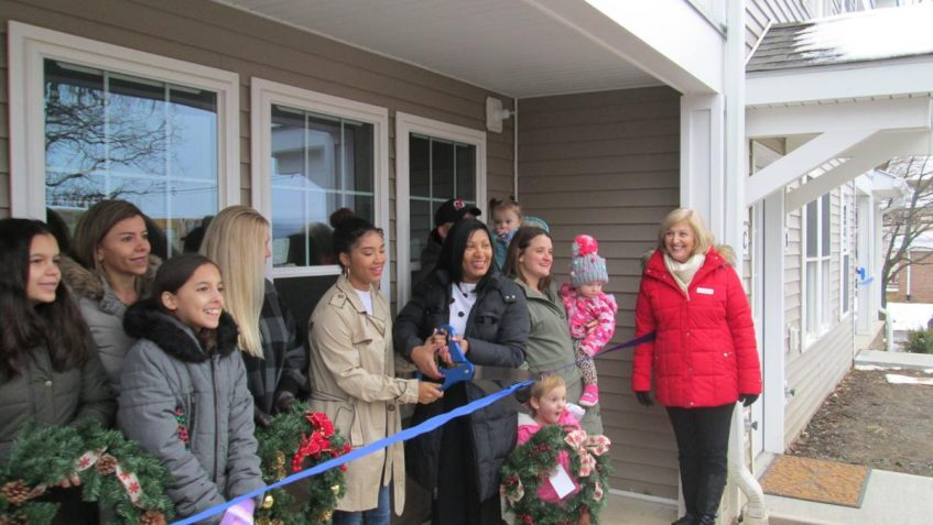 Six new families welcomed to Roxbury as Morris Habitat homes are dedicated