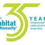 Morris Habitat for Humanity 35 year logo