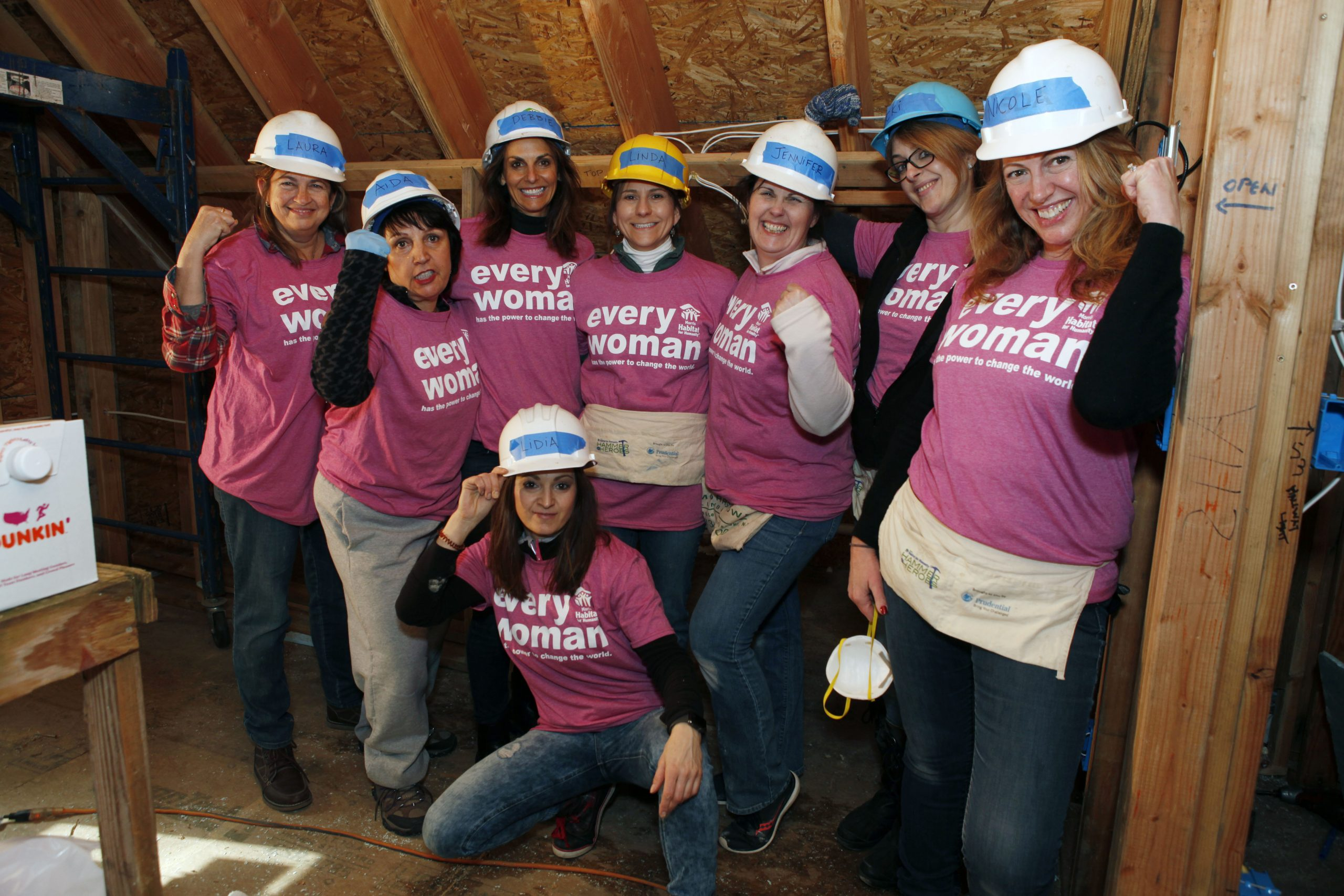 Morris habitat for humanity women's build 2020