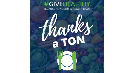 Give Healthy Thanks a Ton