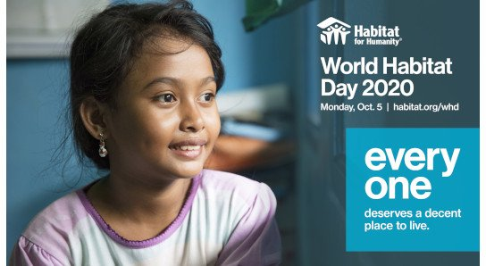 World Habitat Day 2020