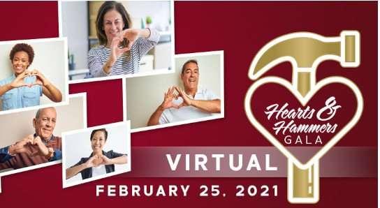 Hearts & Hammers Gala 2021 logo