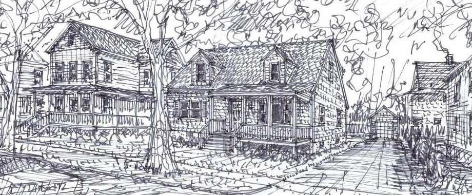 412 Spruce Street artist's sketch
